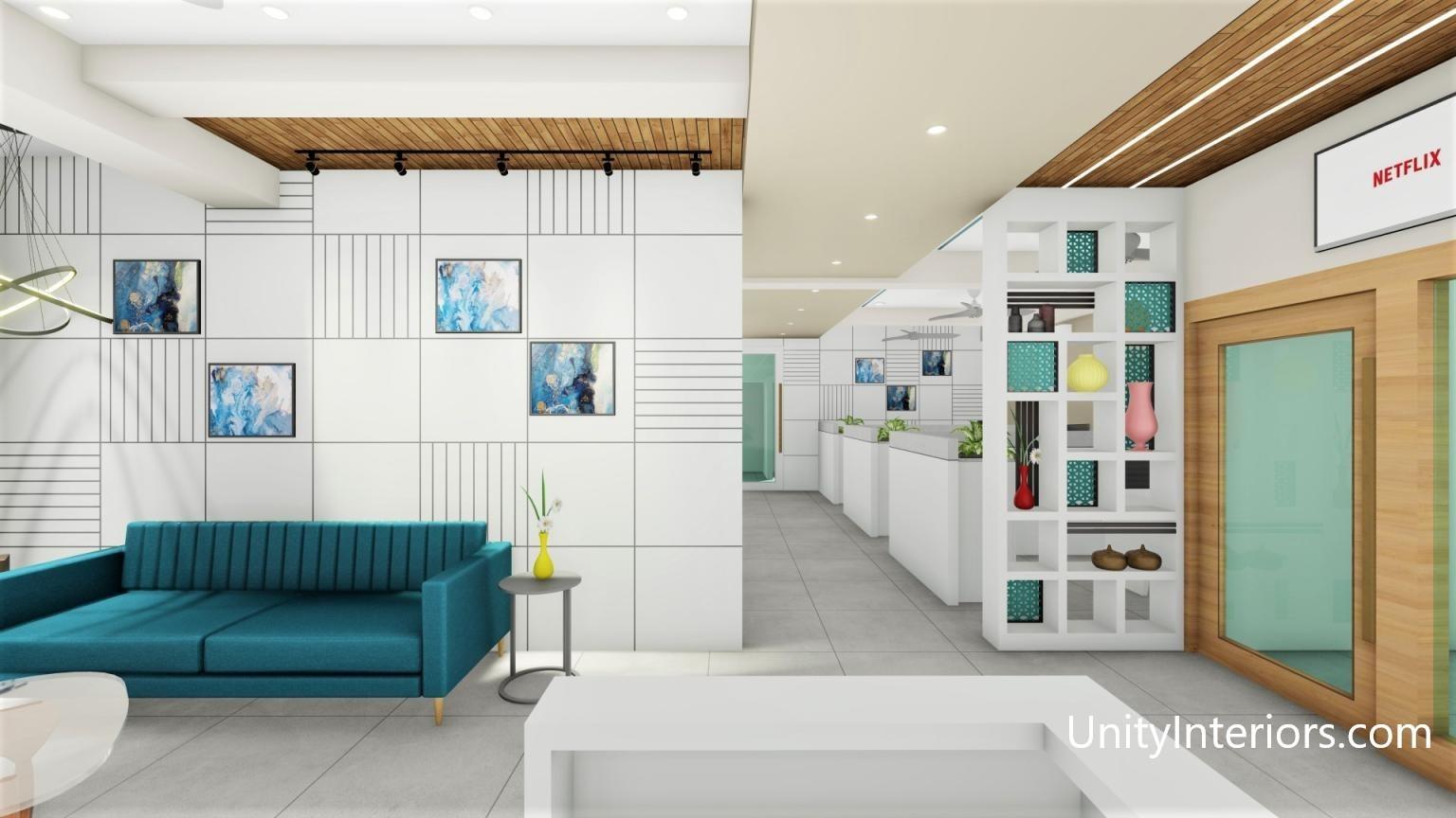 Unity Interiors - Interior Designer ahmedabad - Office Interior Designing