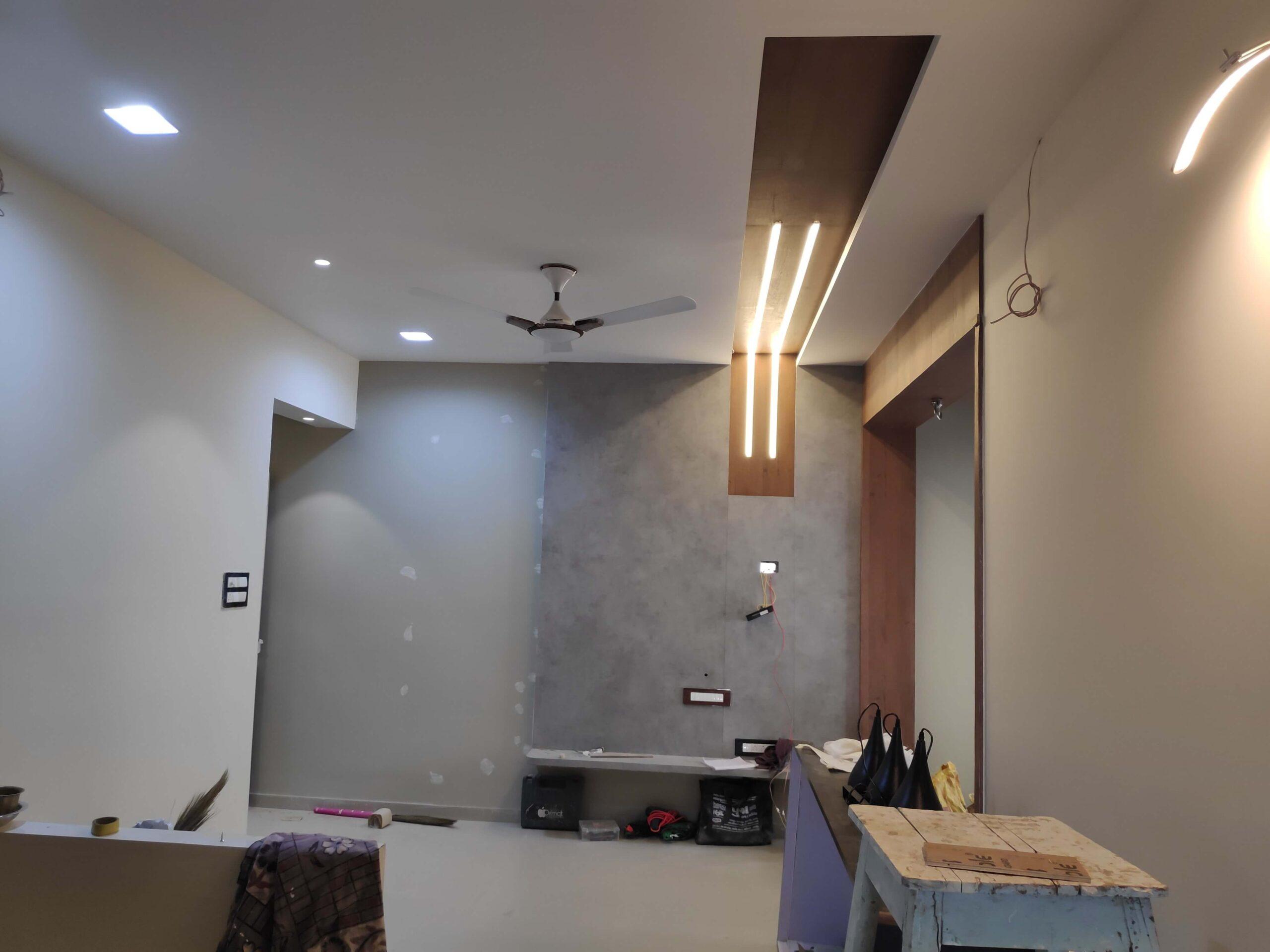 Unity Interiors - Interior designer in ahmedabad - work in progress - 1