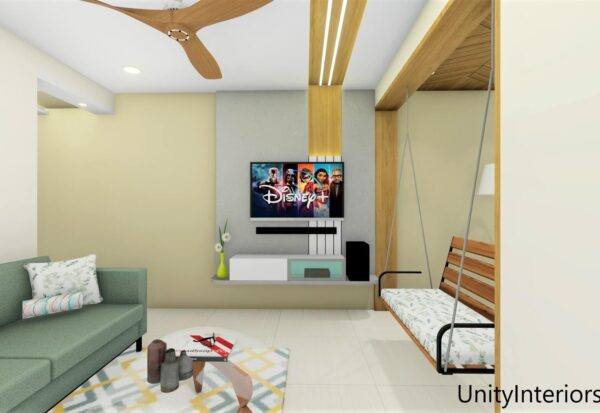 Interior Designer in Ahmedabad, Living room Design Ideas, Unity Interiors, Interior designing in budget